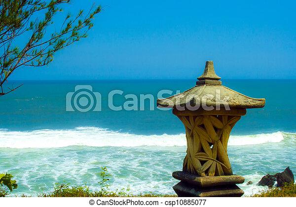Ocean near Tanah Lot - csp10885077