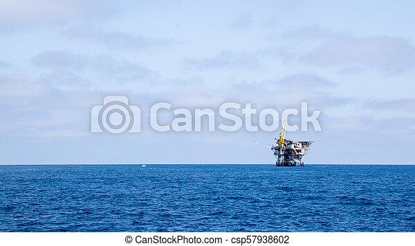 Ocean Oil Rig - csp57938602