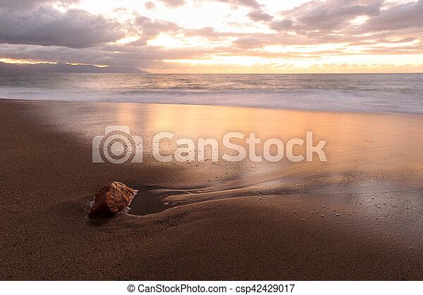 Ocean Sunset - csp42429017