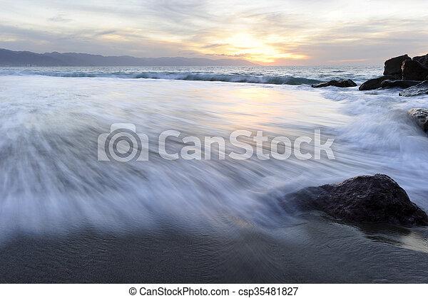 Ocean Sunset - csp35481827