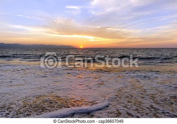 Ocean Sunset - csp36607049