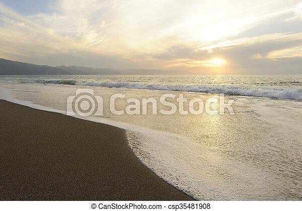 Ocean Sunset - csp35481908