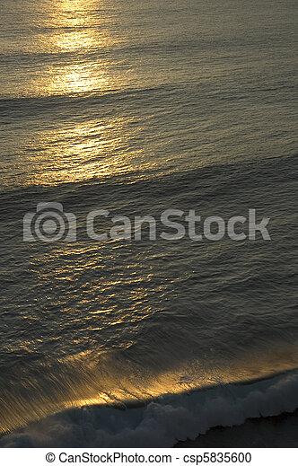ocean sunset - csp5835600