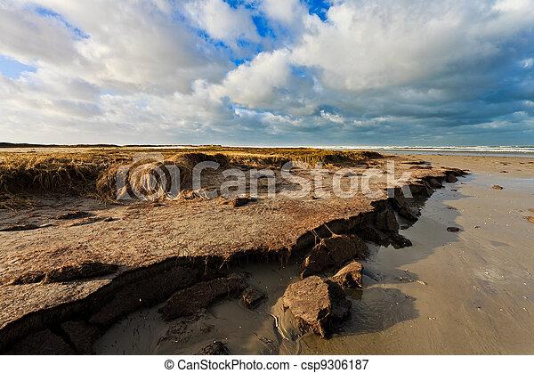 Ocean view with beach - csp9306187