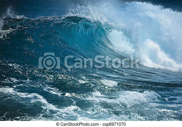 Ocean wave - csp6971070