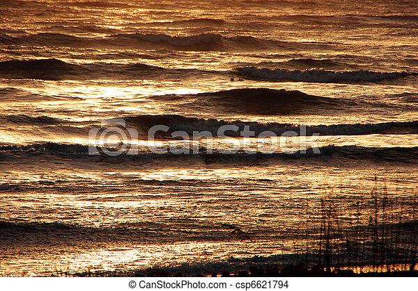 Ocean Waves - csp6621794