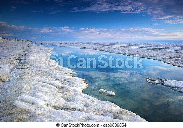 oceano ártico - csp0809854