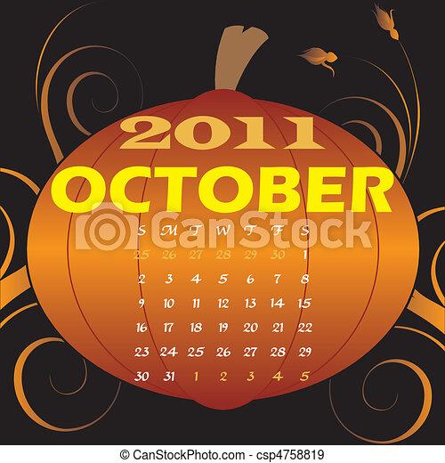 October 2011 - csp4758819