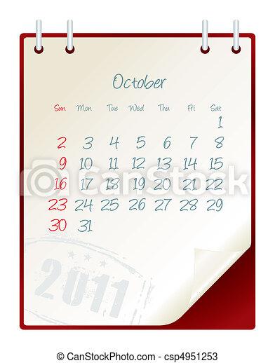 october 2011 - csp4951253