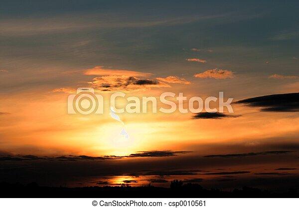 October Sunrise 2 - csp0010561