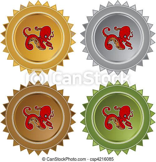 Octopus - csp4216085