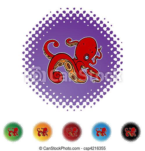Octopus - csp4216355