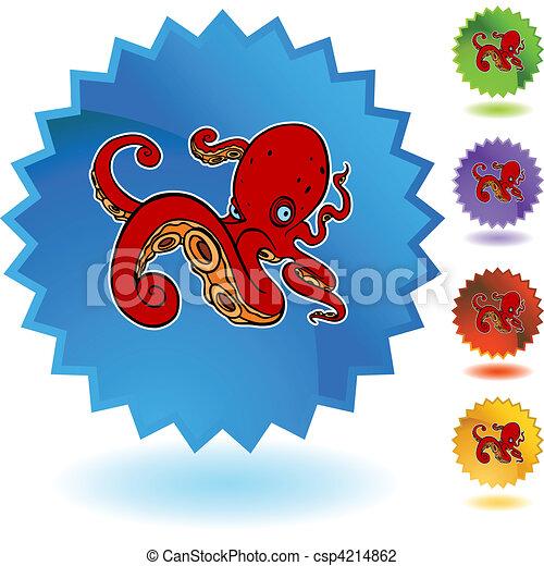 Octopus - csp4214862