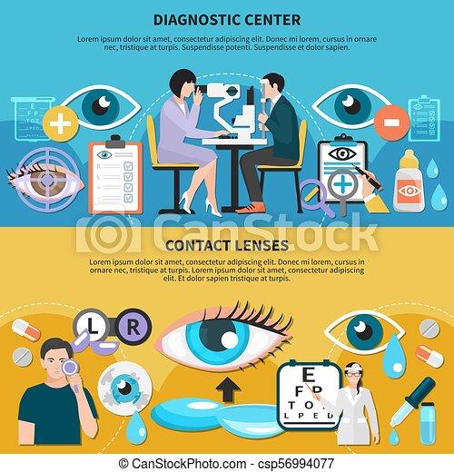 Oculist Eye Care Banners