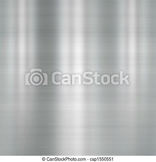 oczyszczony szczotką metal, płyta - csp1550551