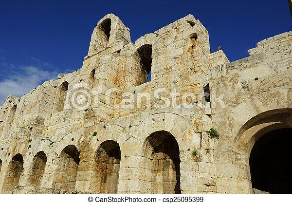 Odeon of Herodes Atticus - csp25095399