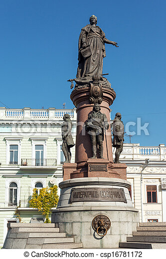 Odessa landmark - csp16781172
