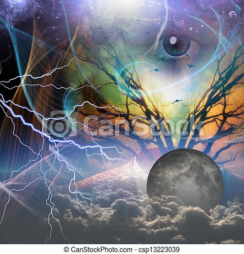 odkrywczy, bóg - csp13223039