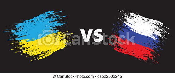 oekraïne, rusland - csp22502245