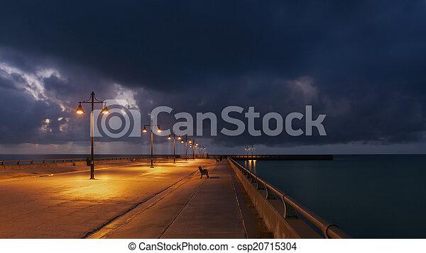 Amanecer en Key West - csp20715304