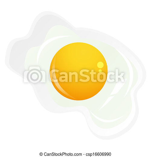 oeufs, frit - csp16606990