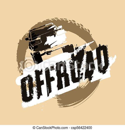 Off-Road Logo Image - csp56422400