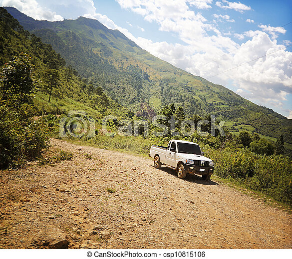 Off Road Track Central America - csp10815106