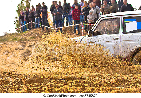 Off roading thrill - csp8745872