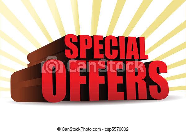 offerte, speciale - csp5570002
