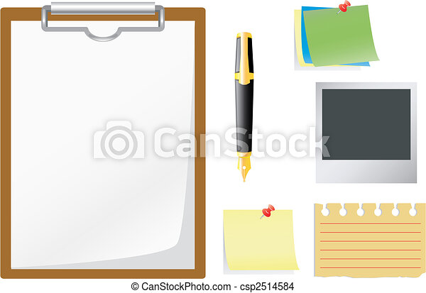 Office accessories. - csp2514584