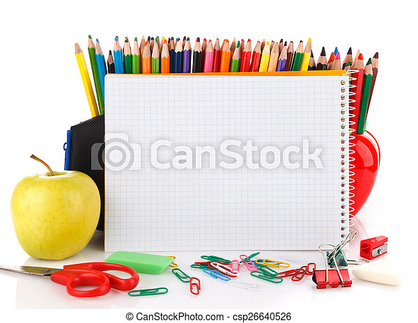 office and school supplies - csp26640526