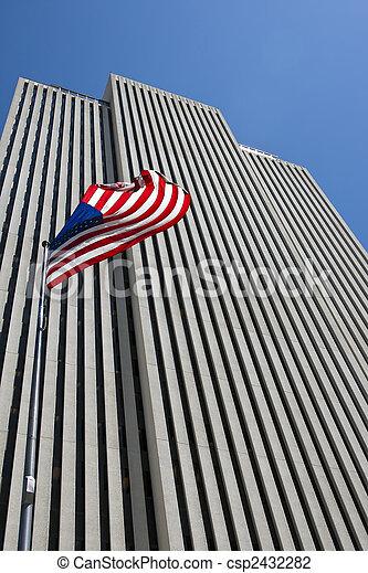 Office Buidling in Salt Lake City - csp2432282