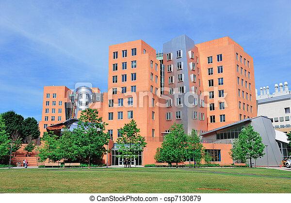 Office building in MIT - csp7130879