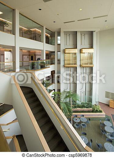 Office building lobby - csp5969878