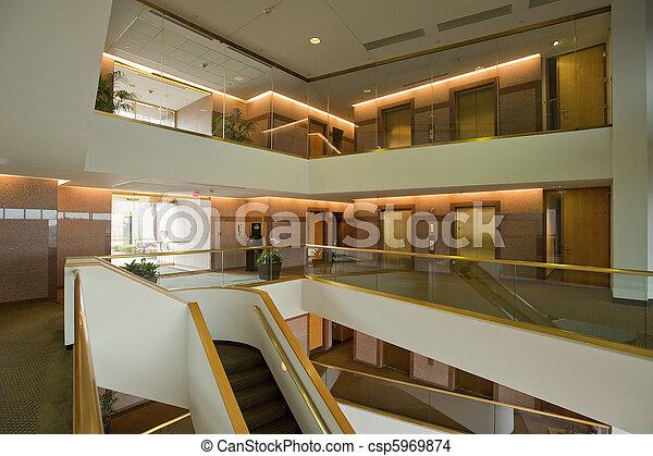 Office building lobby - csp5969874