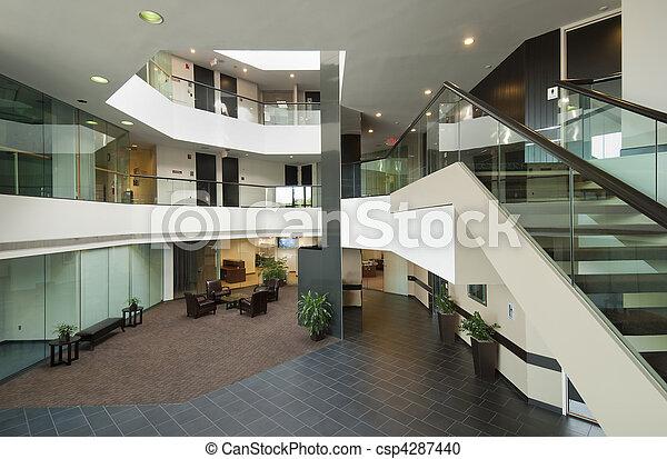 Office building lobby - csp4287440