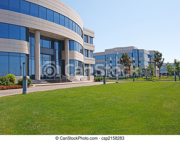 Office buildings - csp2158283