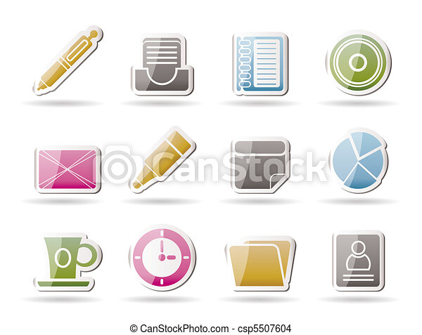 Office & Business Icons - csp5507604