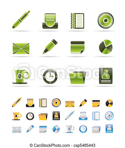 Office & Business Icons - csp5485443
