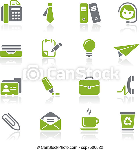 Office & Business Icons / Natura - csp7500822