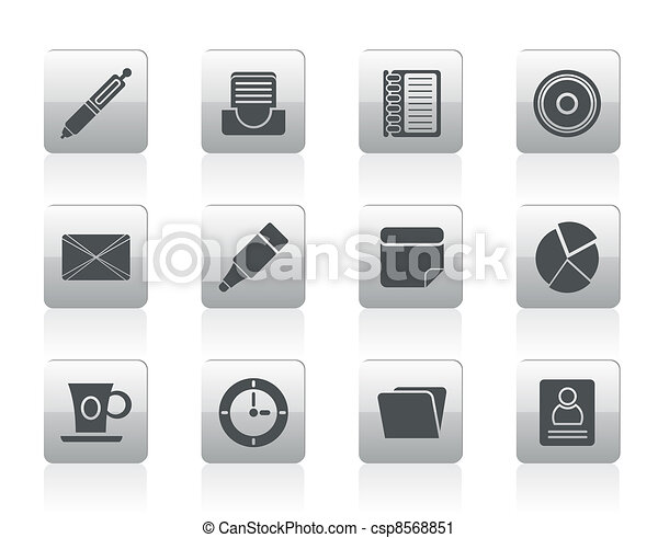 Office & Business Icons - csp8568851