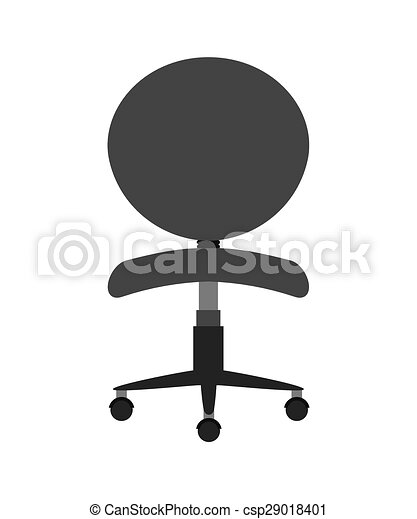 Office chair design, vector illustration eps10 graphic vector ...