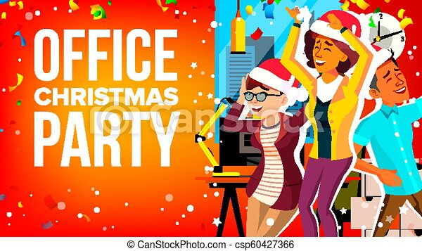 Vector Art - Christmas party. Clipart Drawing gg69467189 - GoGraph