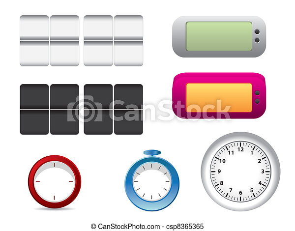 Office clock faces - csp8365365