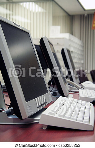 office computers - csp0258253