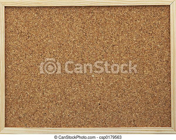 office cork board - csp0179563