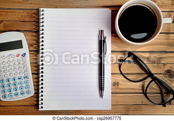 Office desk - csp26957775