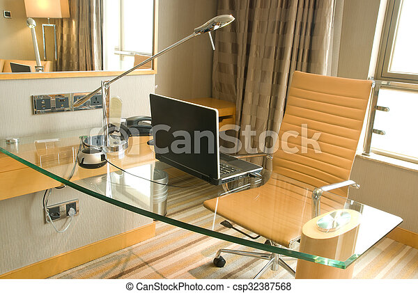 office desk - csp32387568