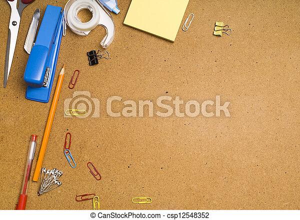 Office desk - csp12548352