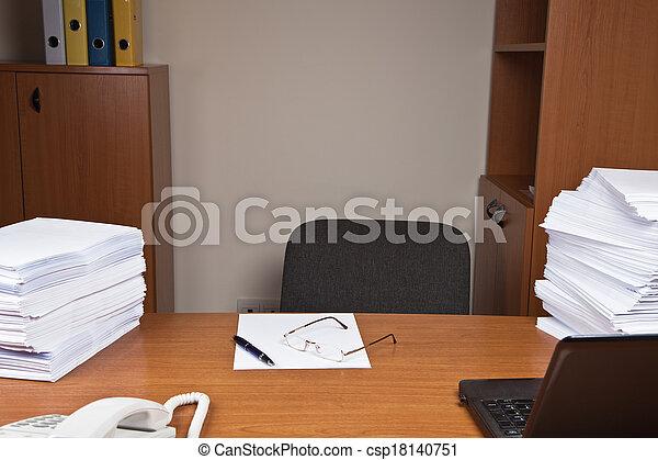 Office Desk - csp18140751